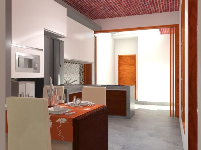 Rumah Cimanggis - Ruang Makan & Dapur